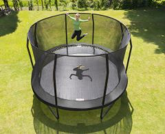 14ft x 17ft Oval JumpPod Trampoline
