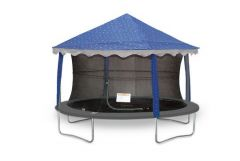9ft x 13ft Oval Star Canopy Tent