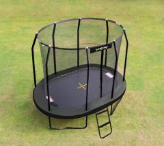 8ft x 11.5ft Oval JumpPod Trampoline