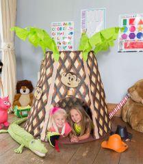 Palmtree Monkey Hut