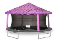 7ft x 10ft Oval Butterfly Canopy Tent