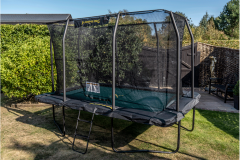 8ft x 12ft Rectangular Deluxe JumpKing Trampoline