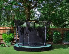 14ft InGround Trampoline  with enclsoure