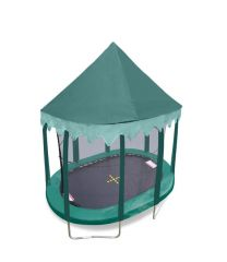 9ft x 13ft Oval Green Canopy