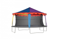 14ft x 17ft Oval Canopy
