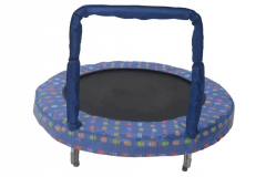 "48"" Blue Robot Mini Trampoline"